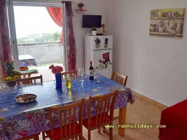 apartments with children playground kvarner islands