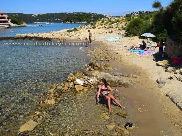 Croatian beaches - Fuza Rab