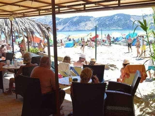 Pláže Chorvatsko na ostrově Rab