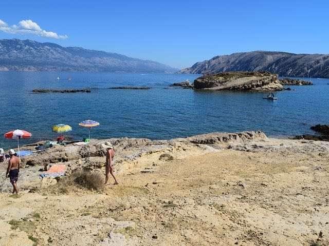 Beaches in lopar croatia