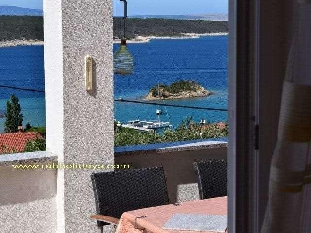 croatian coast island rab