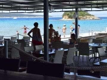 island Rab Croatia