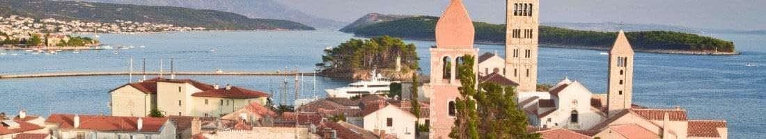 Rab Croazia appartamenti sulle spiagge isola