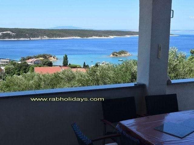 island rab on croatian coast