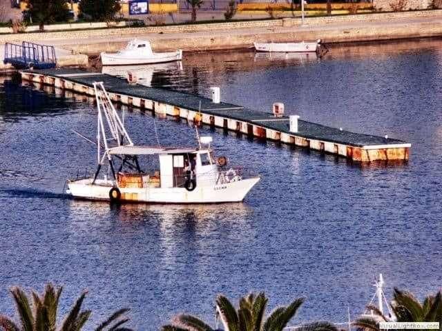 fish-boat-port-rab-croatia
