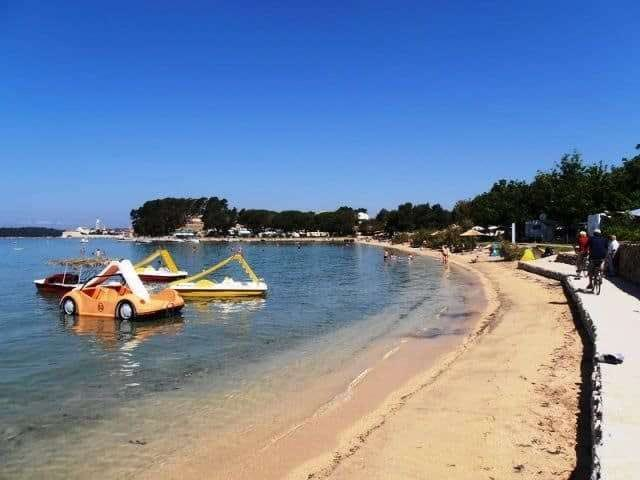 sandy beach padova rab