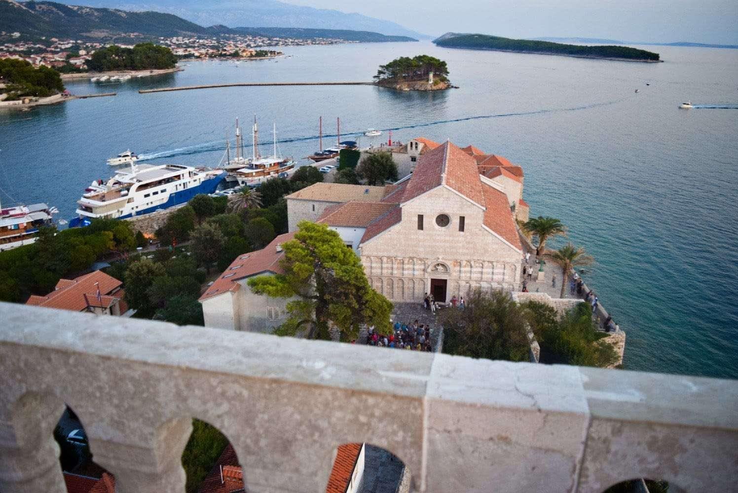 stadt rab kroatien